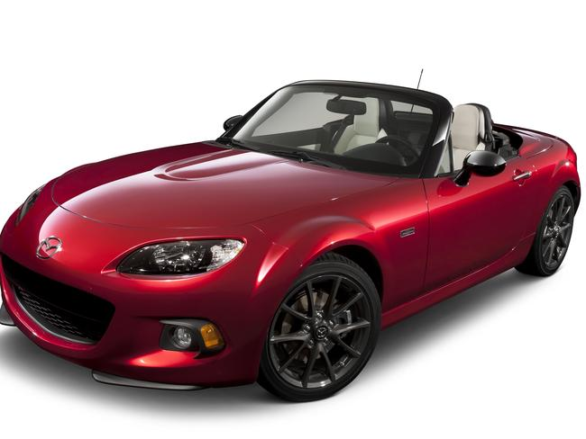 Red hot ... the Mazda MX-5. Picture: Supplied