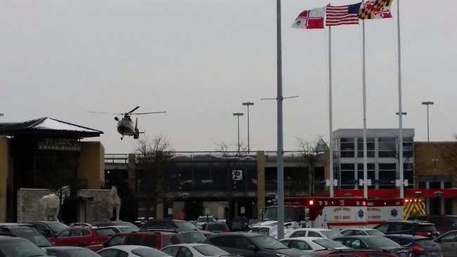 Columbia mall shooting. Picture: Twitter.com