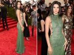 Kendall Jenner attends the Met Gala 2015 'China Through The Looking Glass'. Picture: Getty