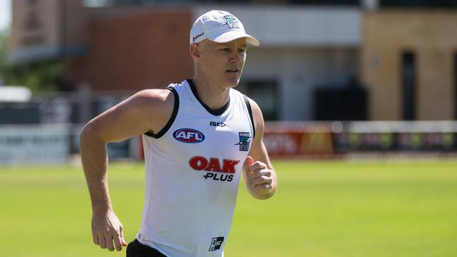 Robbie Gray will captain the Power on Thursday night. Picture: AAP