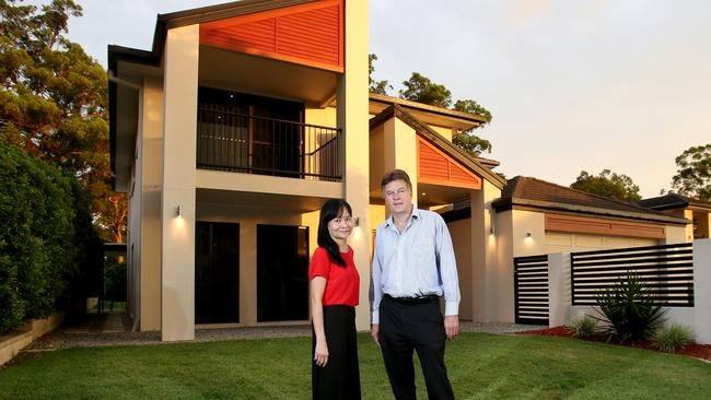 Linda and Steve Pearce are selling it during Chinese New Year, which is considered a good time to sell by the Chinese. Image: AAP/Steve Pohlner.