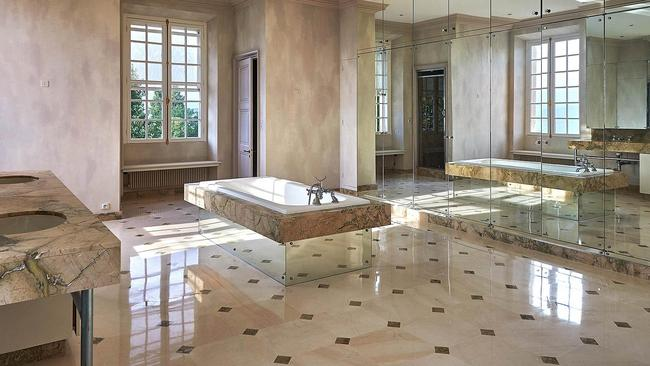 Marble is used extensively throughout the home. Picture: TopTenRealEstate.