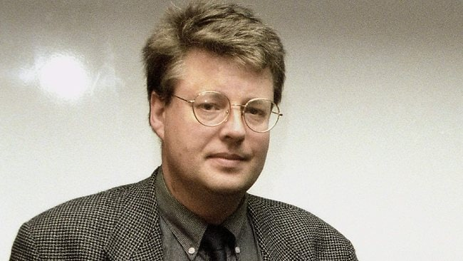 FILE - This file photo of Nov. 11, 1998 shows Swedish journalist and author Stieg Larsson. (AP Photo/Scanpix Sweden/Jan Collsioo, File) ** SWEDEN OUT **