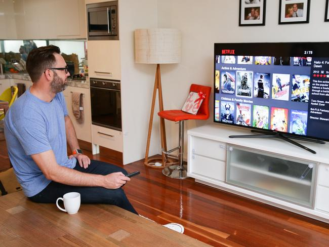 """NBN users frustrated at slow speeds during """"Netflix hours""""."""