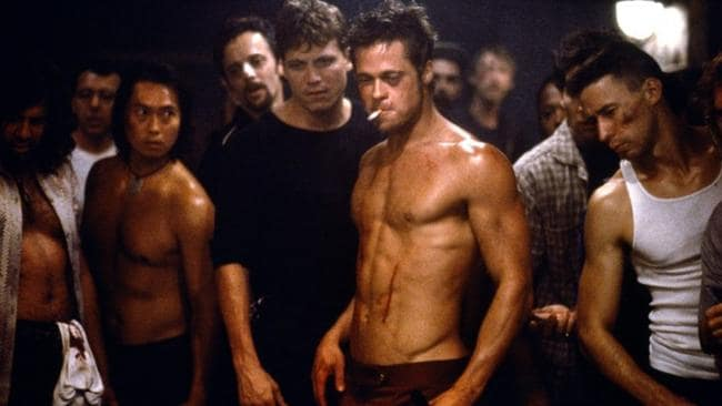 Brad Pitt ... now there's a nice slab of meat.