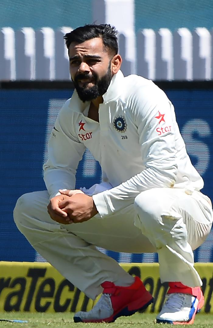 India's captain Virat Kohli.
