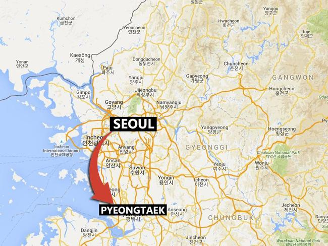 As North Korea Missile Program Heats Up US Opens B Military - Us military bases in south korea map