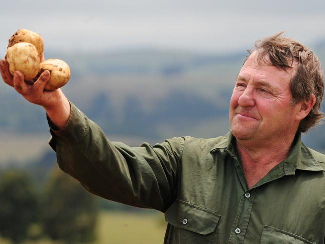 Thorpdale potato grower Des Jennings needs a crystal ball to predict the future of potatoes.