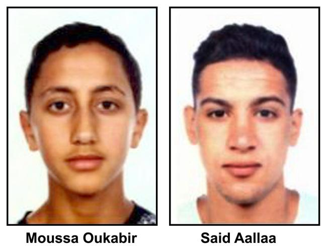 Moussa Oukabir, 17, and Said Aallaa, 19, were both shot dead at Cambrils.