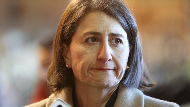 NSW Premier Gladys Berejiklian said she would seek new powers to evict the camp. Picture: John Grainger