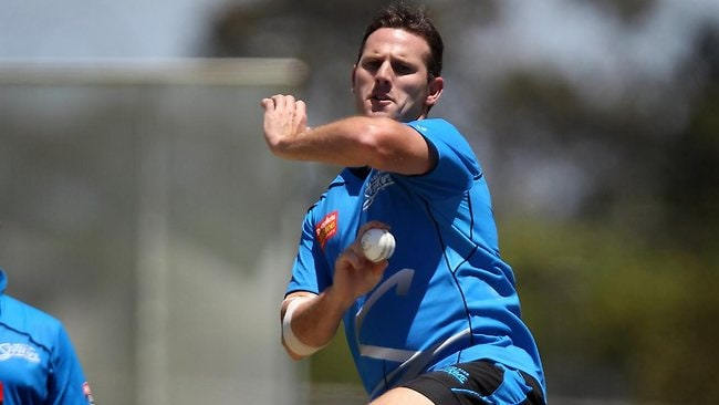 Former Test quick Shaun Tait set to return for the Adelaide Strikers. Picture: Matt Turner