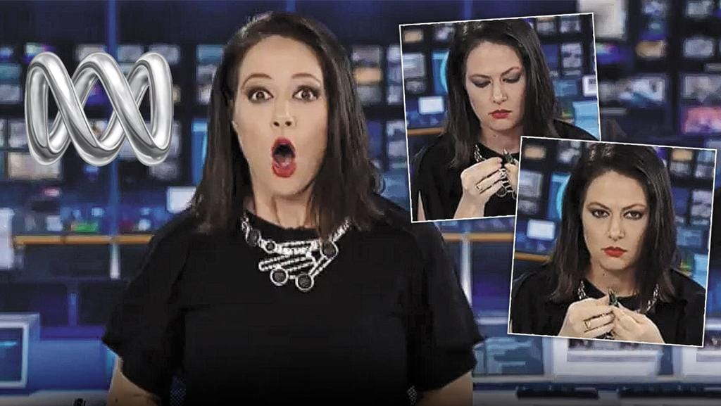 Natasha Exelby's on air news blooper has cost her a job.