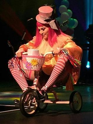Madonna's Tears of a Clown show (Pic Linda Freedman)