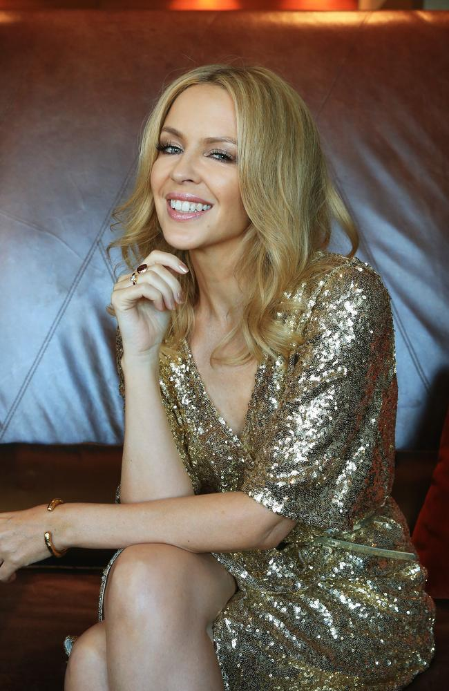 "Pop princess ... Kylie Minogue was named Australian of the Year ""in the UK"" in 2015. Picture: Toby Zerna"