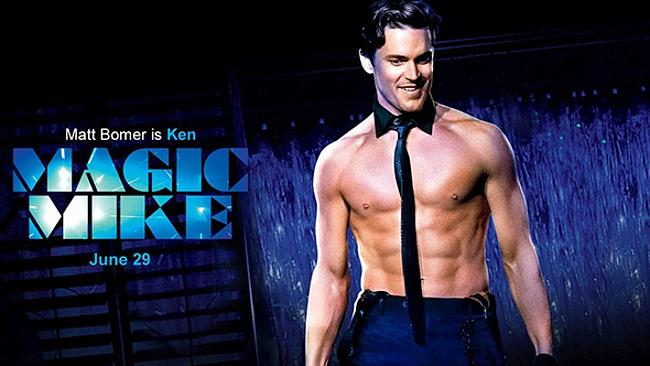Matt Bomer in a promo poster for Magic Mike. Picture: Supplied