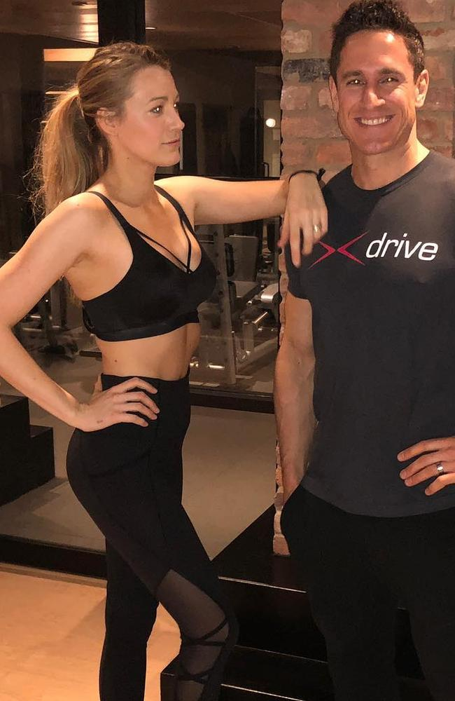 Blake Lively has shed 27 kilos over 14 months.