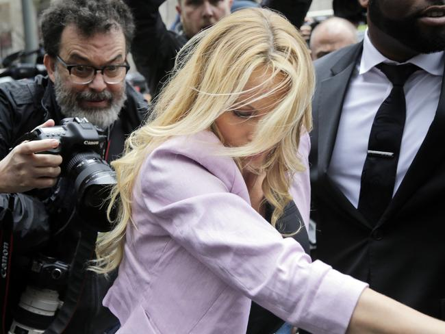The raid on Trump's lawyer's office sought information about a variety of matters, including a $130,000 payment made to Daniels to allegedly silence her. Picture: AP