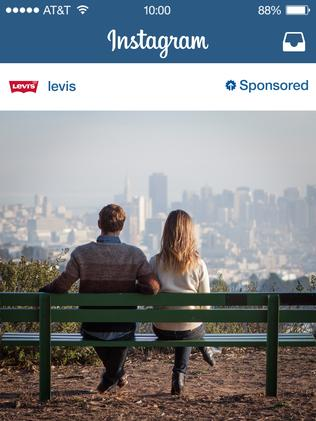 And Levi's jeans has also taken up the challenge of posting creative paid Instagram posts.