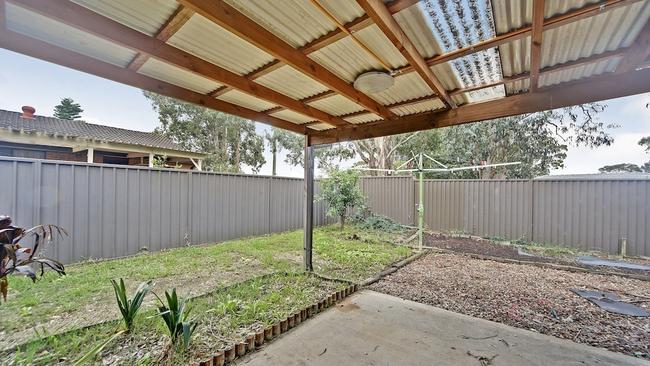 The backyard of the Macquarie Fields is big enough for a round of kid's cricket or soccer.