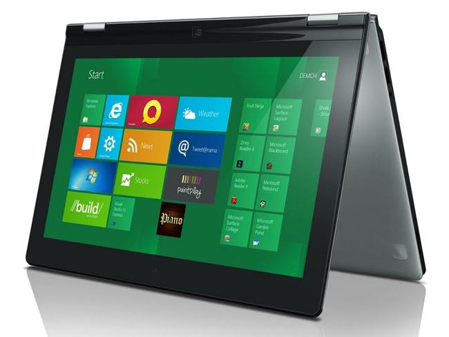 "The Lenovo Windows 8 ""Yoga"" Ultrabook. Picture: Lenovo"