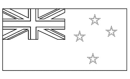Flags of the world new zealand kidspot for Flag of australia coloring page