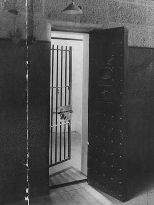 An eerie cell in Pentridge Prison.