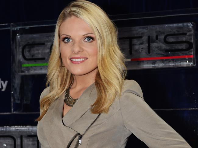Footy Show presenter and journalist, Erin Molan.