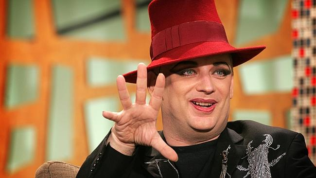 Fresh start ... Boy George, pictured in 2006, doesn't like to talk about his battles with addiction.