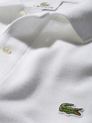 The famous Lacoste polo shirt and logo. Picture: Instagram