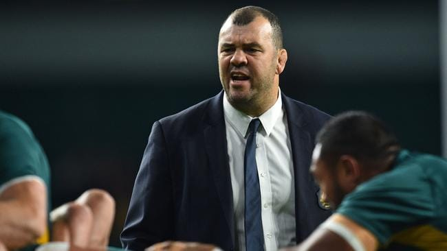 Australia coach Michael Cheika has been reluctant to use his bench during the Wallabies' spring tour.