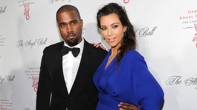 Kanye West and girlfriend Kim Kardashian have yet to speak publicly about the birth of their daughter, North West. Pictures: Evan Agostini/Invision.