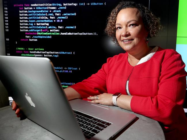 Lisa Jackson, Apple's Vice President of Environment, Policy and Social Initiatives. Picture David Geraghty