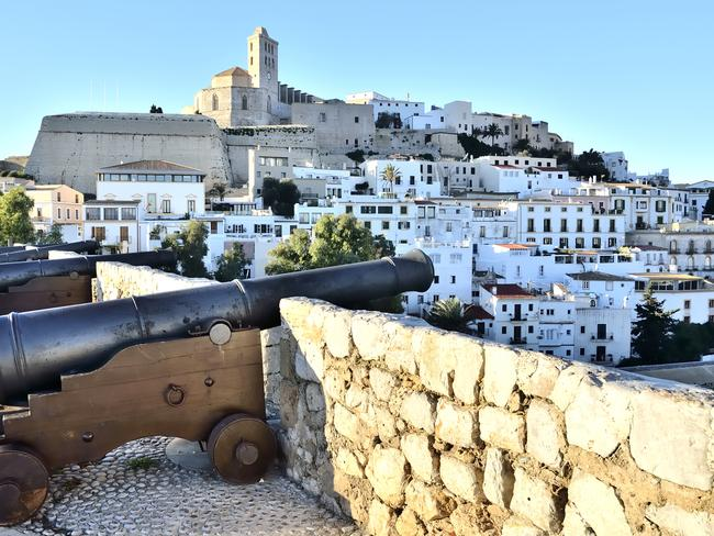 View of the cathedral at Ibiza. Picture: ThinkStock