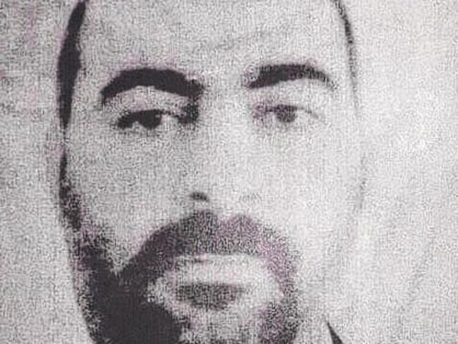 Wanted man ... an undated file picture released by the official website of Iraq's Interior Ministry claims to show Abu Bakr al-Baghdadi, the head of ISIS. Picture: AP/Iraqi Interior Ministry