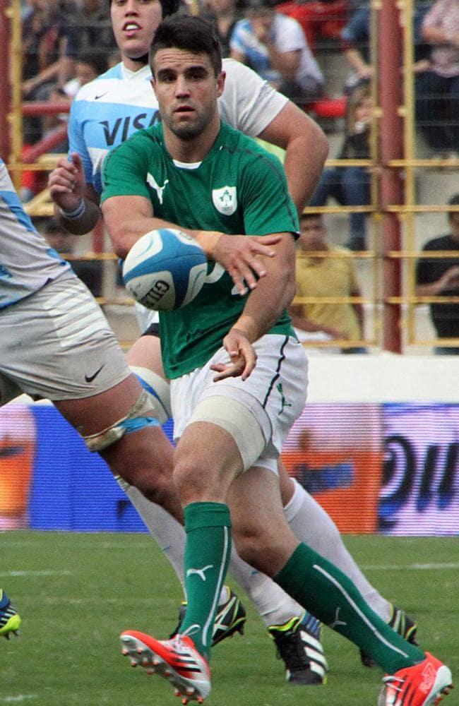 Conor Murray formed a fine halves combination for Ireland alongside Jonny Sexton.