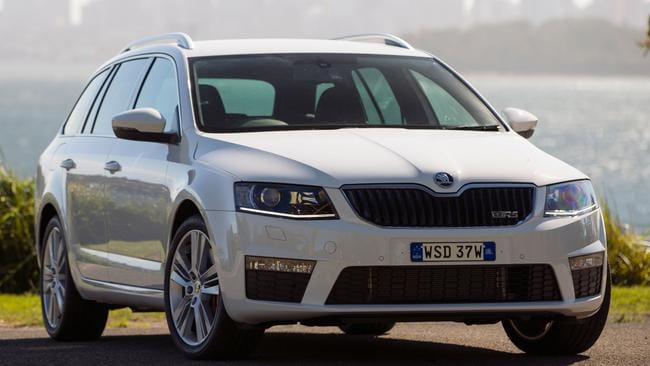 Skoda's Octavia RS combines practicality with punch. Picture: Supplied