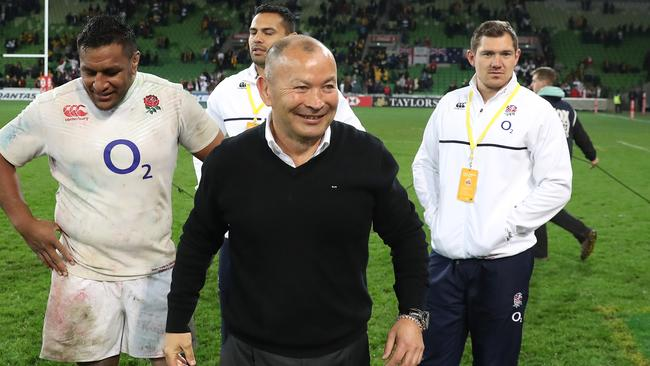 Eddie Jones' England are after a match against world champions New Zealand.