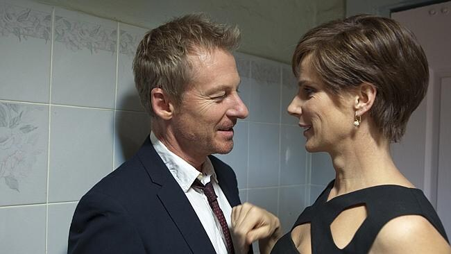 Back again ... Richard Roxburgh's Rake is set for a third series on the ABC