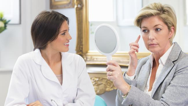 Consultations are key when deciding if a non-invasive procedure is right for you. Picture: iStock.