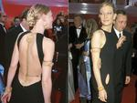 Before Cate Blanchett became the style icon she is today, let us not forget her humble beginnings. Back in 2000 Blanchett wore a bum-skimming overembellished Jean Paul Gaultier number featuring hip-level open panels proving she could only improve on her fashion-game ... and boy has she! Picture: Getty
