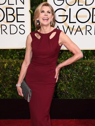 Strike a pose ... The Good Wife star Christine Baranski. Picture: AP