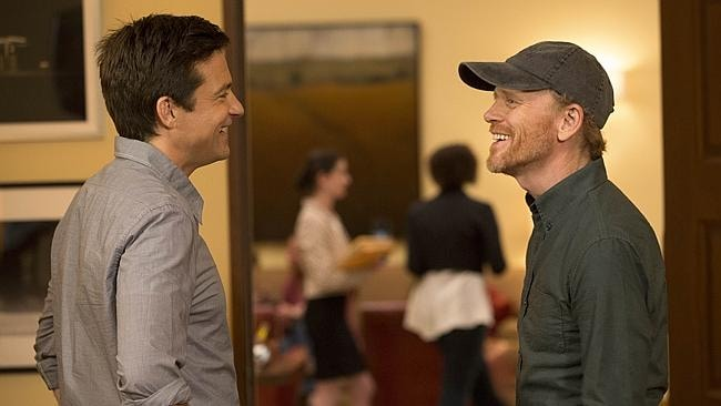 Sunday TV Guide - Jason Bateman and Ron Howard appear together in Arrested Development. Pic suppl...