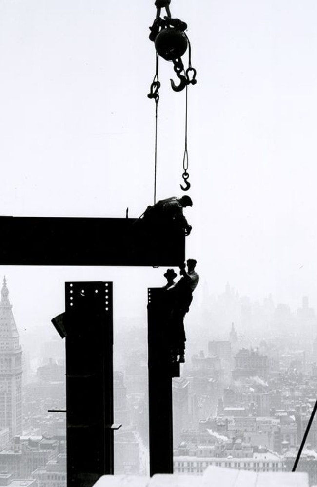 Lunch Atop A Skyscraper: Photos of construction in New ...