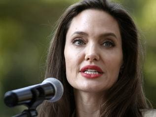 epa06039411 US actress and the UN refugee agency UNHCR (United Nations High Commissioner for Refugees) Special Envoy Angelina Jolie addresse the media at the International Peace Support Centre in Nairobi, Kenya, 20 June 2017, on World Refugee Day 2017. Jolie visited refugee girls in Nairobi who have fled violence and persecution in their home countries such as South Sudan, Somalia, DR Congo, Burundi and other countries in the region to raise awareness on sexual and gender-based violence in conflicts. World Refugee Day is globally observed on 20 June to raise awareness of the situation of refugees throughout the world. EPA/DAI KUROKAWA