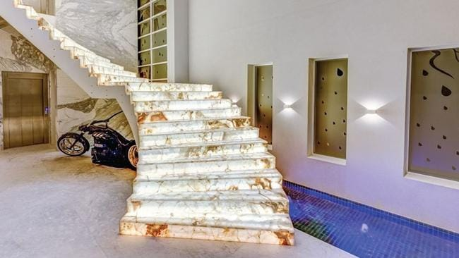The lavish staircase for which Salim Mehajer has to pay $1m in construction costs and court fees.