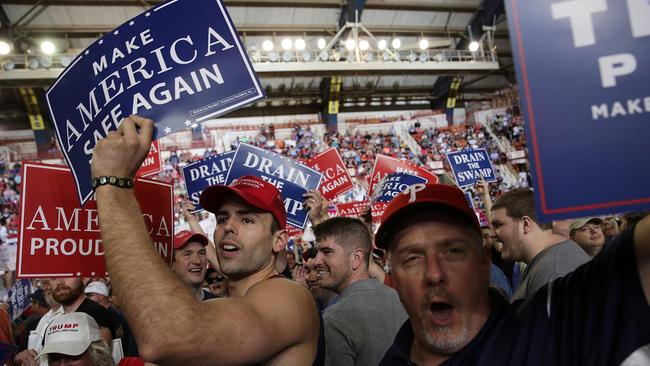 Mr Trump's supporters wanted to undo the Obama presidency. Picture: Alex Wong/Getty Images/AFP.