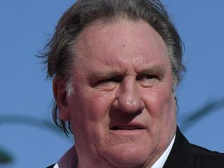 "French actor Gerard Depardieu arrives for the screening of the restored version of the movie ""Novecento - Atto Primo"" by Bernardo Bertolucci, presented as part of Venice Classics selection at the 74th Venice Film Festival on September 5, 2017 at Venice Lido. / AFP PHOTO / Tiziana FABI"