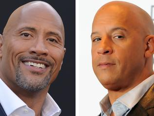 Fur flies on 'Fast & Furious' as The Rock lets rip