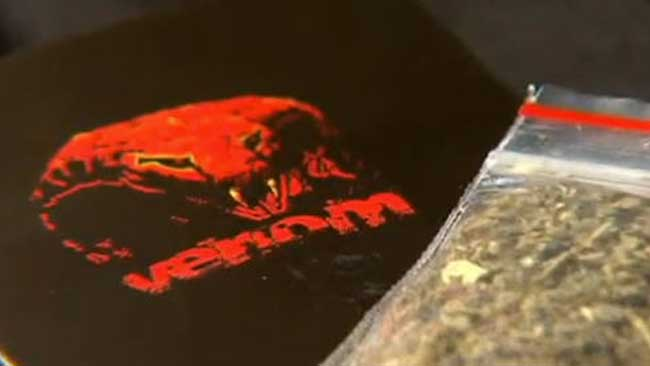 A synthetic drug called Venom is favoured by mine workers. Picture: Nine News.