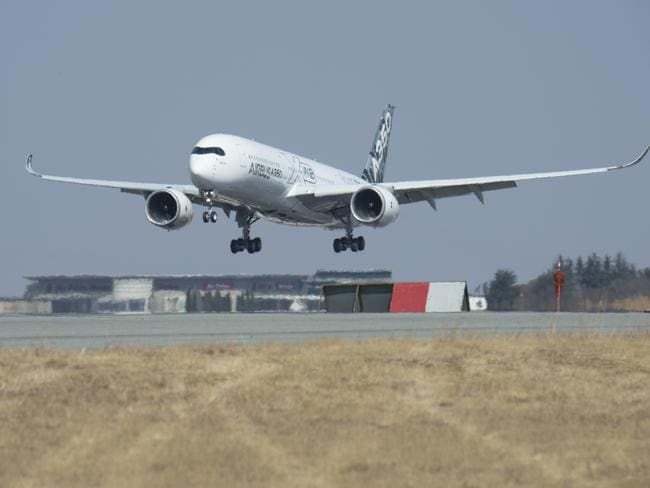 Landing in Johannesburg before departing for Sydney. Picture: Airbus.